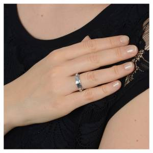 Gebetsringe: Rosenkranz Ring Silber 800 drehbar