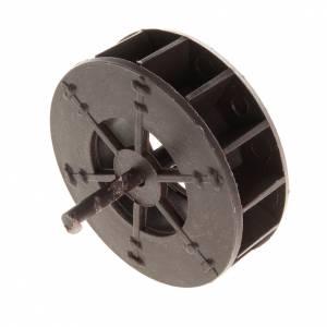 Bomba de agua y motores para movimientos: Rueda de molino de agua para el pesebre de 5 cm