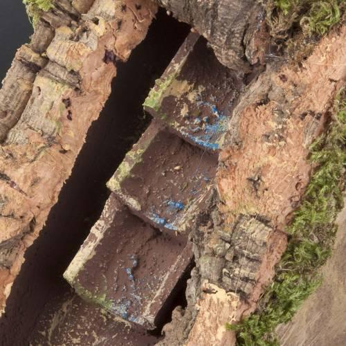 Ruisseau avec pompe pour crèche noël 25x20x10 s3