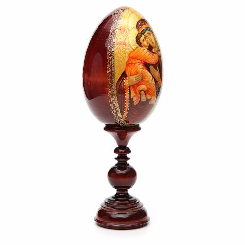 Russian Egg HAND PAINTED Vladimirskaya 36cm s4