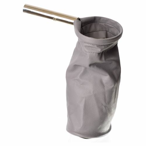 Sacco per questua (elemosine) grigio s2