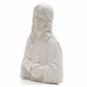 Sacro Cuore di Gesù marmo sintetico rilievo s3