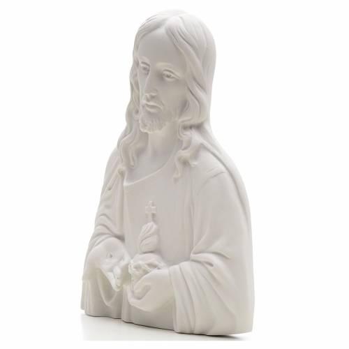 Sagrado Corazón de Jesús, polvo de mármol s3