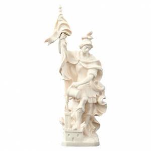 Saint Florian en bois naturel s1