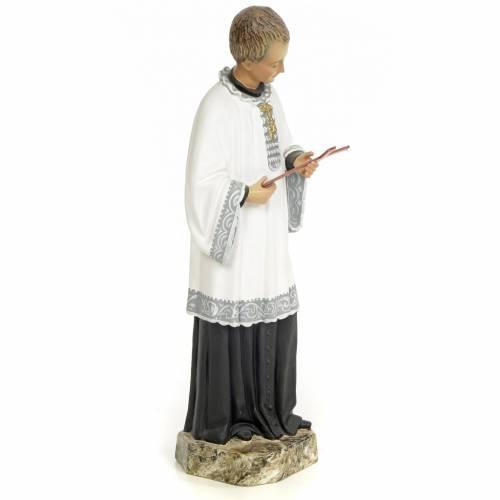 Saint Louis de Gonzague 30 cm pâte à bois fine s4