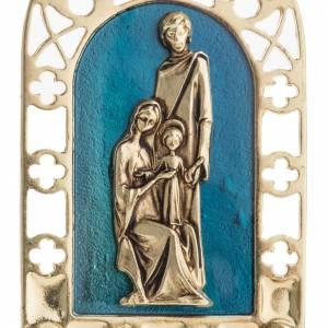 Sainte Famille petit carreau décoration gotique s4
