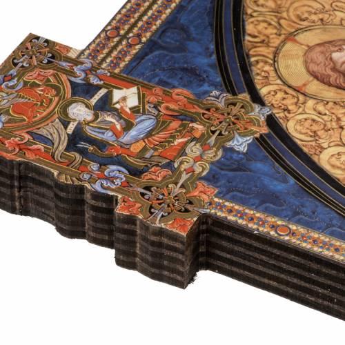 Sainte Trinité imprimée sur bois façonné s5