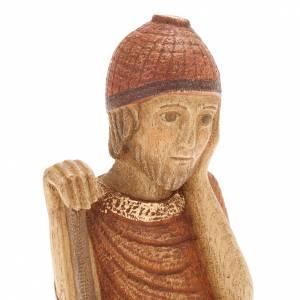 San Giuseppe Presepe d'Autunno legno dipinto s2
