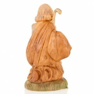 Figuras del Belén: San José de Nazaret de rodillas 8 cm.