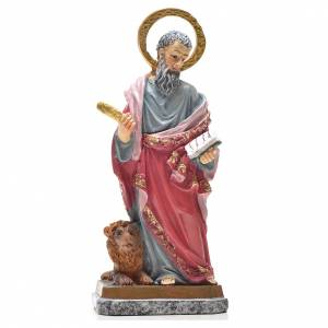 San Marco 12 cm con immaginetta PREGHIERA ITALIANO s1