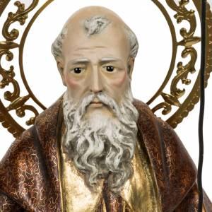 Sant'Antonio Abate 60 cm pasta di legno finitura extra s2