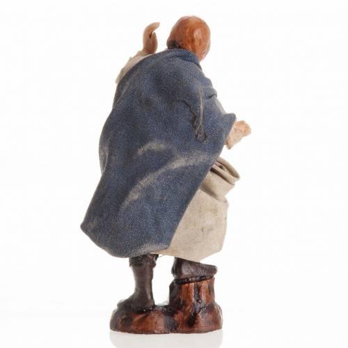 Santon crèche Napolitaine 8 cm homme qui regarde s3