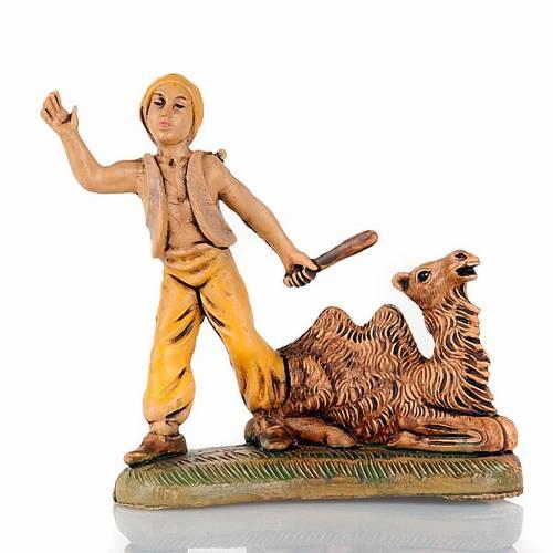 Chamelier avec chameau et bâton 8 cm s1
