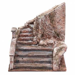 Scalinata presepe tipo roccia 15x15x25 cm s1