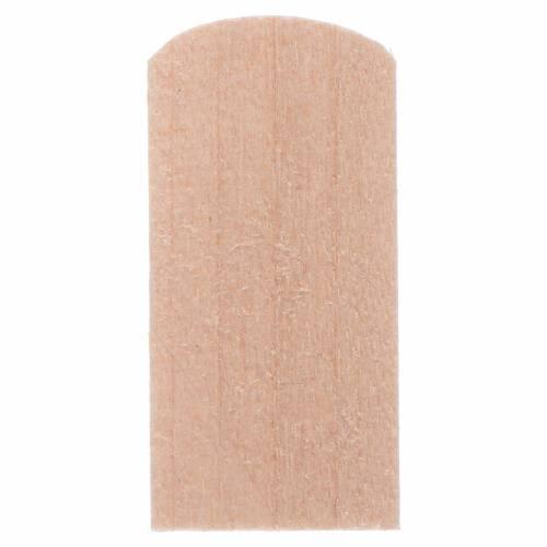 Scandole di legno 1,2x2,4 cm presepe 100 pz s2