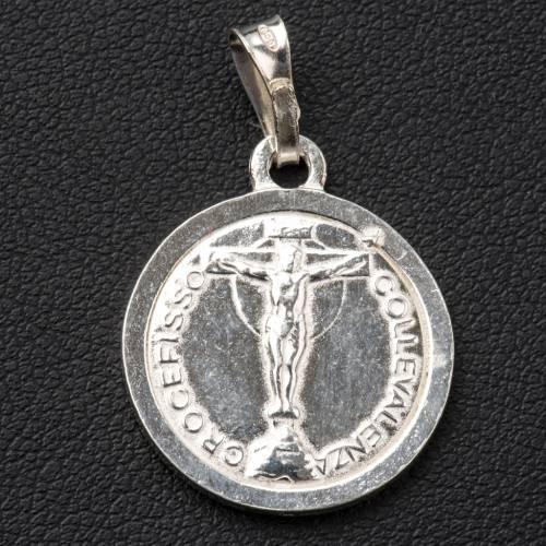 Scapular Medal in 800 silver diam 2 cm s2