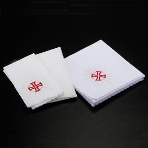 Servizi da messa e conopei: Servizio messa 4pz simbolo eucarestia