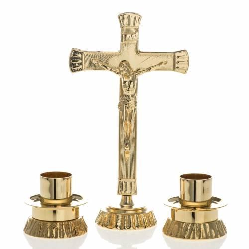 Set d'autel laiton doré s1