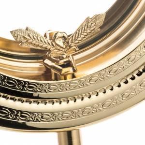 Shrine for Magna Host, simple in brass H46cm s4