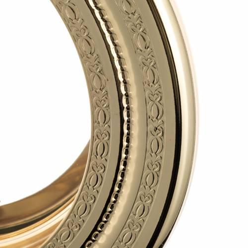 Shrine for Magna Host, simple in brass H46cm s2