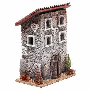 Small house in cork for nativities measuring 23x16x10cm s3