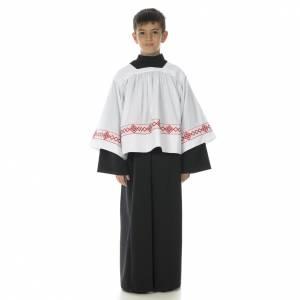 Aubes communion, profession de foi: Soutanelle servant d'autel noire
