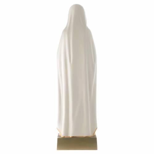 Statua Madonna della Rosa Mistica 70 cm vetroresina s4