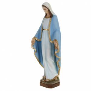 Statua Miracolosa manto celeste 60 cm fiberglass s5