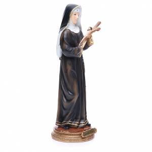 Statua Santa Rita 32 cm resina s4