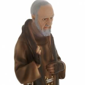 Statua San Padre Pio da Pietrelcina 40 cm gesso s2