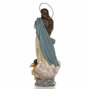 Statue Immaculée Conception 60cm pâte à bois s3