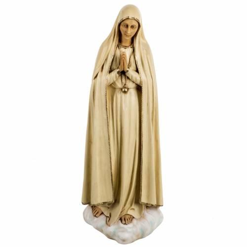 Statue Notre Dame de Fatima 50 cm résine Fontanini s1