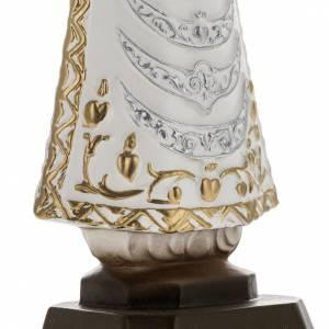 Statue Notre Dame de Lorette plâtre 25 cm s3