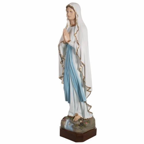 Statue Notre Dame de Lourdes fibre de verre 130 cm s6
