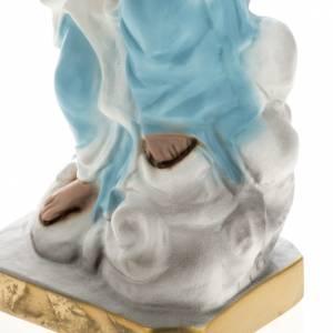 Statue Notre Dame des Neiges plâtre 30 cm s3