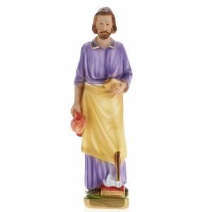 Statue Saint Joseph travailleur plâtre 30 cm s1