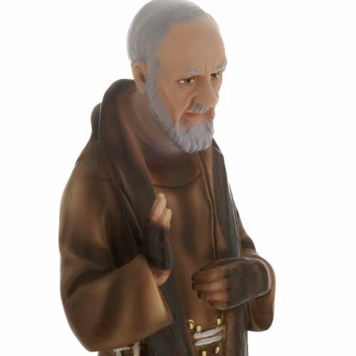 Statue Saint Père Pio de Pietralcina plâtre 40 cm s2