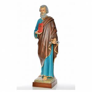 Statue Saint Pierre 160cm fibre de verre peinte s2