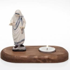 Portacandele, Portalumini: Madre Teresa con lume