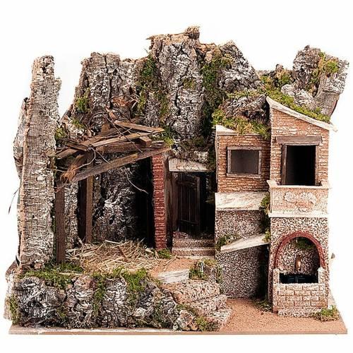 STOCK cabaña con burgo 60 x 40 x 50 cm. s1