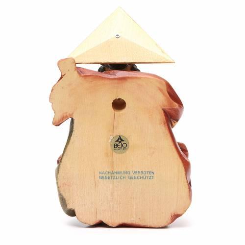 STOCK Père Éternel en bois peint 15 cm s4