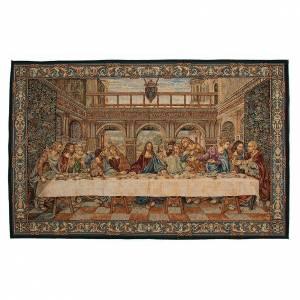 Tapestries: Tapestry inspired by Leonardo's Last Supper 65x110cm