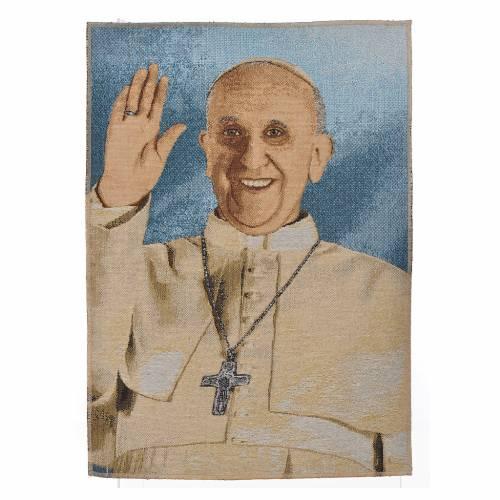 Tapisserie Pape François 34x47cm s1