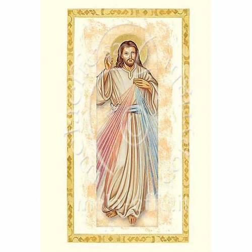 Tarjeta de felicitación con pergamino Jesús Miseri s1