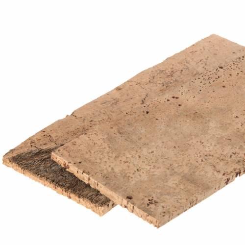 Tavoletta sughero naturale 2 pz cm 27x9x0,5 s2