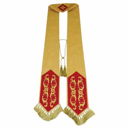 Étole liturgique 100% laine s1