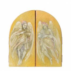 Triptyque à volets La Sainte Famille de Mario Eremita s2