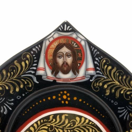 Trittico Russia dipinto 18 x 12 cm s3