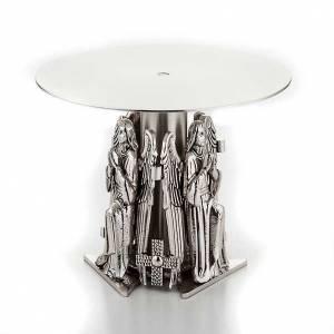 Bases pour ostensoir, trônes: Trône avec anges en prière