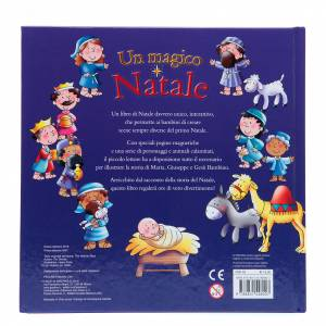 Libri per bambini e ragazzi: Un magico Natale con tante calamite - Nuova edizione